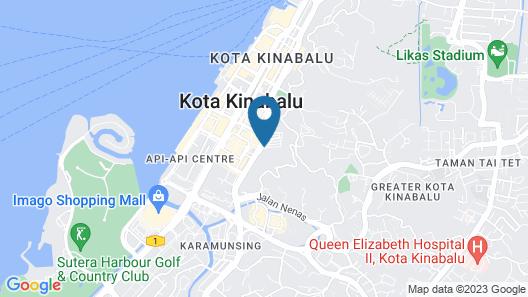 Hotel Shangri-La Kota Kinabalu Map