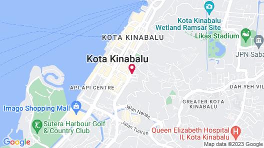 Balada Hostel Map