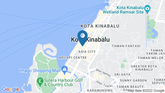 Le Hotel Kota Kinabalu Map