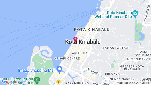 Le Meridien Kota Kinabalu Map