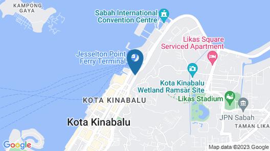 Mercure Kota Kinabalu City Centre Map