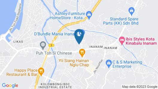 3-Plus Hotel Map