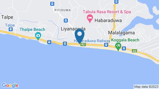KK Beach Map