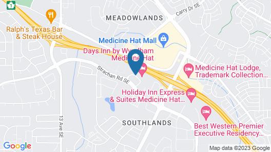 Days Inn by Wyndham Medicine Hat Map