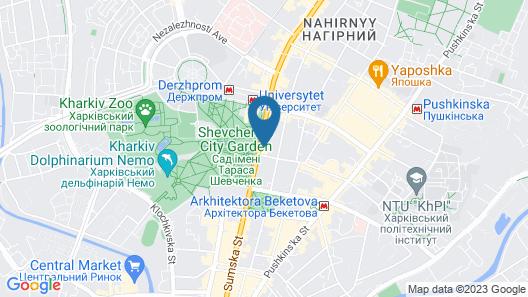 Apartments on Sumskaya 45 Map