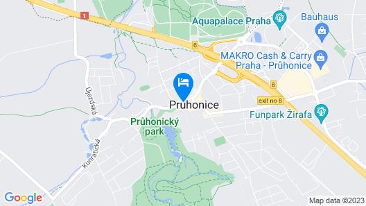 Paloma Pruhonice Map