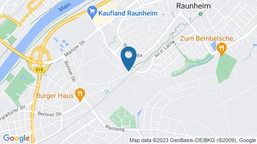 Plaza Suites Rüsselsheim Map