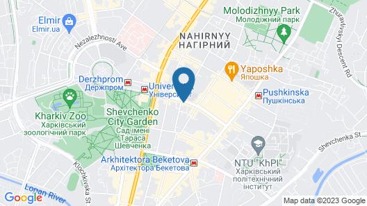 Flatsis Apartment Svobody 12 Map