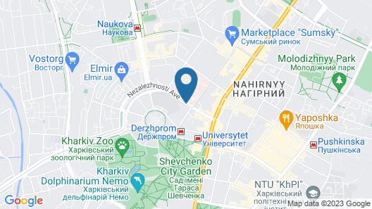 Kharkiv Palace Hotel Map