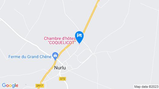 Gîte Samara - In Nurlu Map