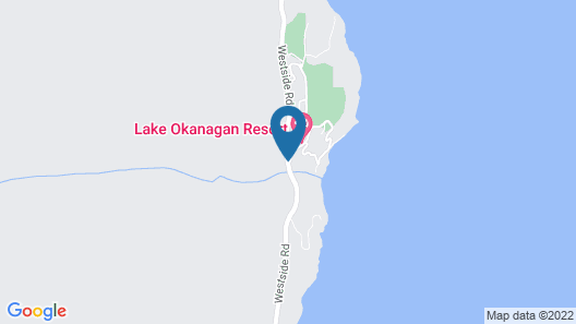 Cozystay Signature: Lake Okanagan Resort Map
