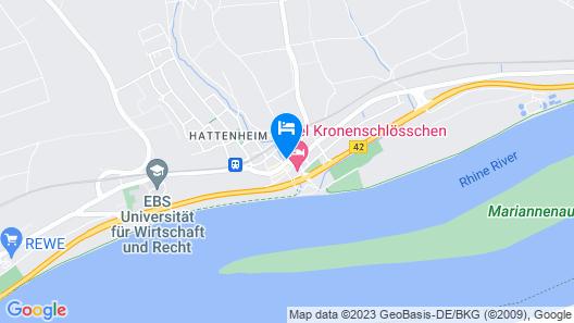 Hotel und Weinhaus Zum Krug Map