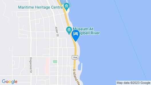 Above Tide Motel Map