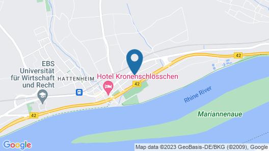 Hotel Kronenschlösschen Map
