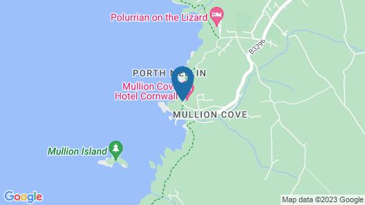 Mullion Cove Hotel & Spa Map