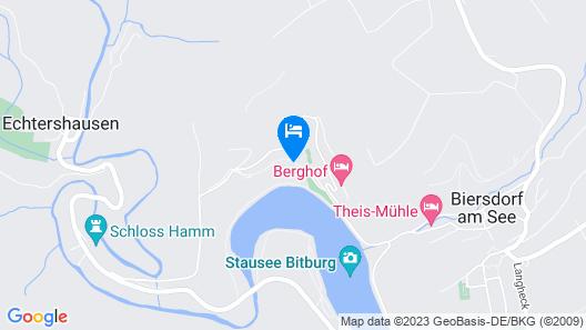 Dorint Seehotel & Resort Bitburg/Südeifel Map