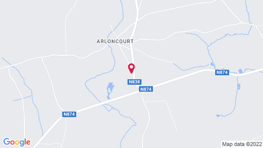Lovely Holiday Home in Bastogne With Jacuzzi Map
