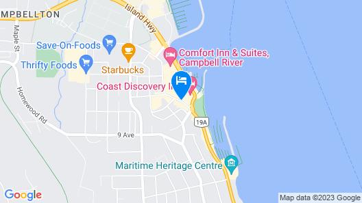 Coast Discovery Inn Map