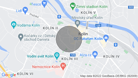 ELF, MODERN APARTMENT IN KOLIN, 5 min to center Map