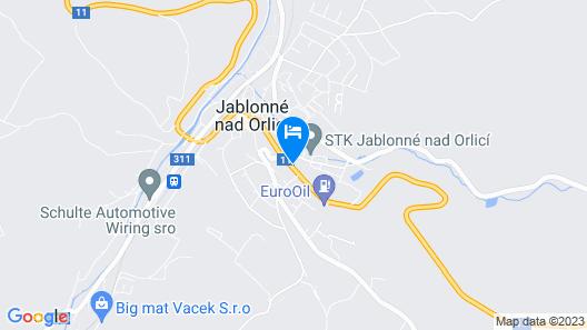 Hotel Filipinum Map