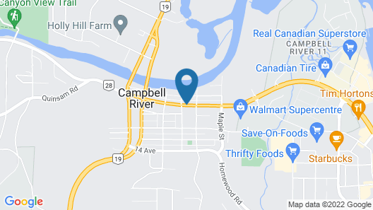 Campbell River Lodge by Riverside Map