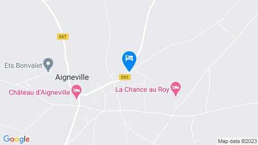 Chambre d'hôtes - La Chance au Roy Map