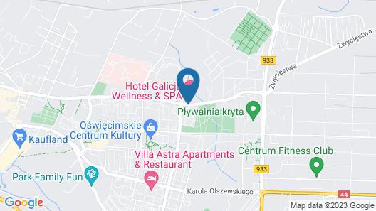 Hotel Galicja Wellness & SPA Map
