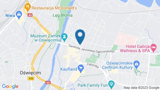 Villa Centro Map
