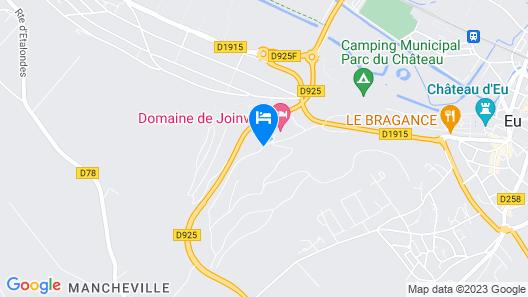 Domaine de Joinville & Spa Map