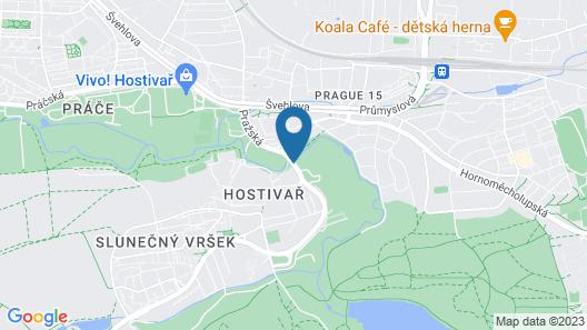 Hotel Selsky Dvur Map