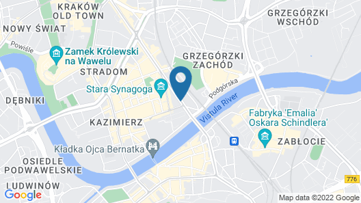 INX Design Hotel Map