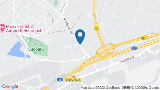 NH Frankfurt Airport Map