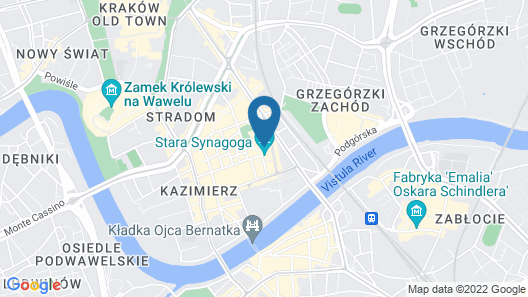 Hotel Ester Map