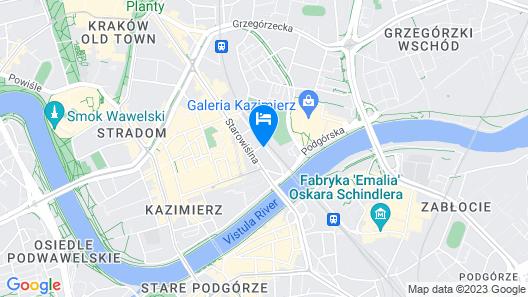 PURO Kraków Kazimierz Map