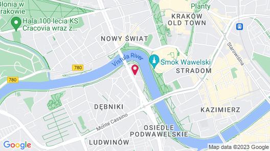 Zamkowa 15 Apartments Map