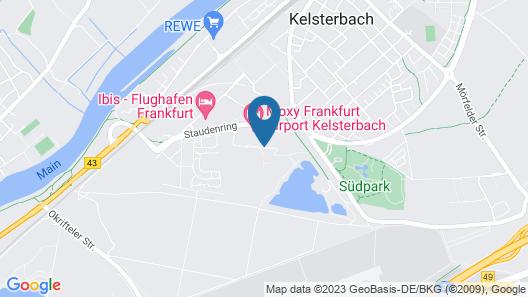 Mercure Hotel Frankfurt Airport Map