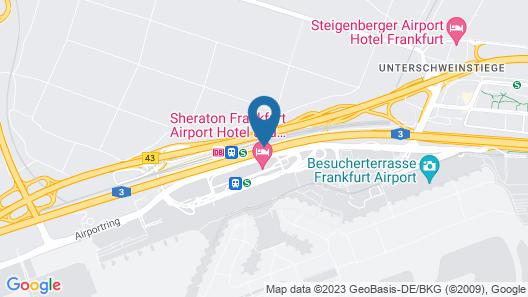 Hilton Garden Inn Frankfurt Airport Map