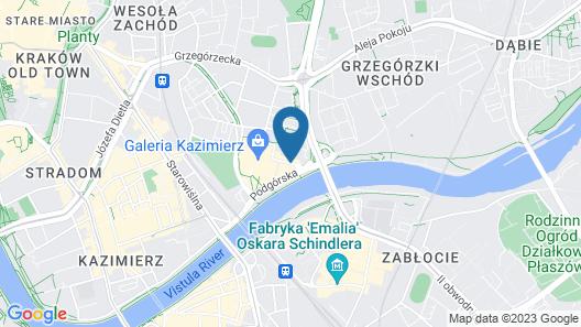Galaxy Hotel Map