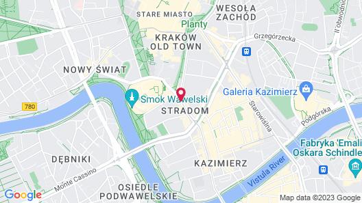 Stradonia Serviced Apartments Map