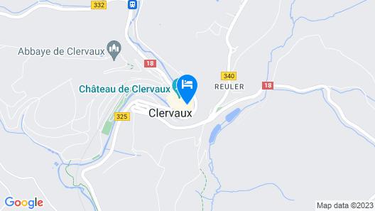 Le Clervaux Boutique & Design Hotel Map
