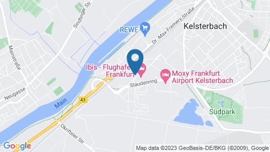 ibis Frankfurt Airport Map