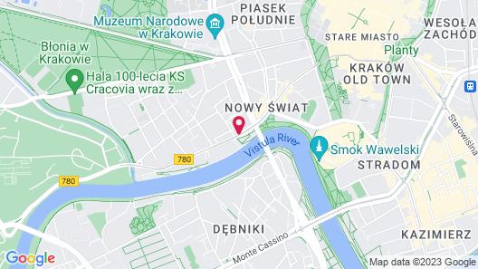 Novotel Krakow Centrum Map