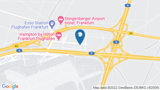 Park Inn by Radisson Frankfurt Airport Hotel Map