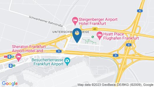 Holiday Inn Frankfurt Airport Map