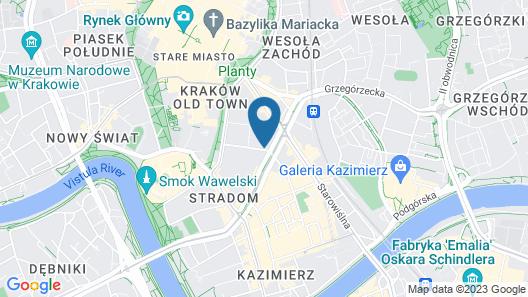 Tyzenhauz Apartments Superior Map