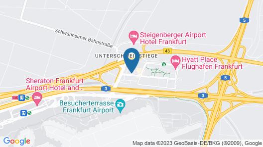 Hampton by Hilton Frankfurt Airport Map