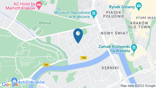 Emaus Apartments Map