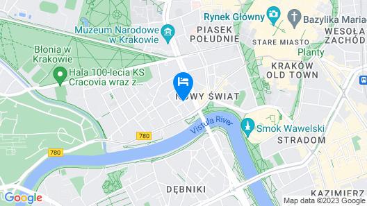 ibis Krakow Centrum Map