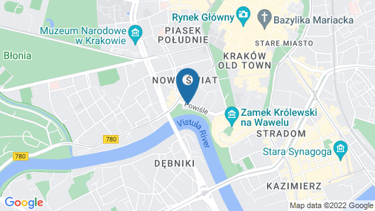 Sheraton Grand Krakow Map