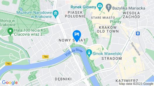 Sheraton Grand Krakow Map